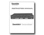 Eventide H910 Harmonizer Instruction Manual