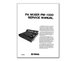 Yamaha PM-1000 Factory Service Manual
