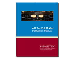 Kenetek ART Pro VLA II Input Transformer Mod Instructions